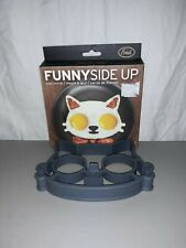 Fred FUNNY SIDE UP Silicone Egg Mold Cat/Kitten