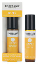 Tisserand HAPPY Aromatherapy Pulse Point Essential Oil ROLLER BALL 10ml