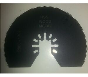 80mm Oscillating Multi Tool Quick Change Saw Blade WOOD / METAL fits DeWalt Fein