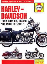 New Haynes Manual For Harley Davidson Fxstbi 1450 Softail Night Train 2004-06