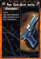 6x 9mm Semi-Auto Pistol - Unlimited NM Rage CCG