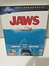 JAWS Blu-ray UK Limited Collector Edition Exclusive Digibook Brand New & Sealed+