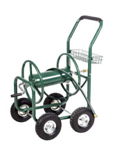 Heavy Duty Garden Water Hose Reel Cart- 300 Ft Liberty Water Hose Storage Reel.