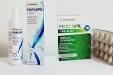 Forcapil lotion + 30 capsules Slows down hair loss stimulates hair growth