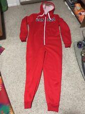 Canada Weather Gear Unisex  Long red warm Sleep Wear Medium