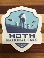 Star Wars, Hoth National Park Patch, 3D PVC Rubber, Mandalorian, Jedi, Sith