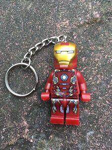 Ironman Keyring Keychain Minifigure UK SELLER