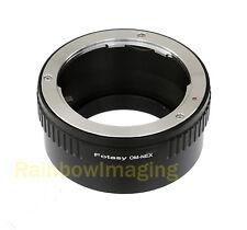 Olympus OM Lens to Sony NEX7 NEX-F3 a6000 a5000 a3500 a3000 Alpha A7 A7R Adapter