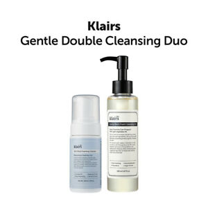 [Klairs] Gentle Double Cleansing Duo/ Foaming cleanser + Fresh Cleansing Oil