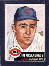 1953 Topps - Jim Greengrass #209 Cincinnati Reds - VG/EX