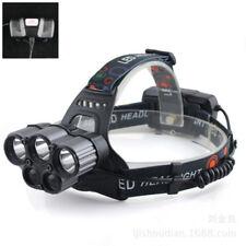 HOT XM-L T6 5 LED RICARICABILE 2x 18650 PROIETTORE TESTA TORCIA+CAVO USB