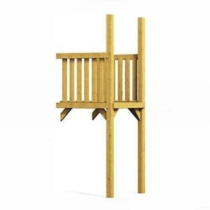 Winnetoo Anbau für Spielturm Kletterturm Stelzenhaus Holz imprägniert Tüv 1653