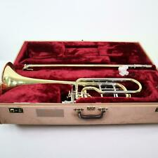 Jupiter XO Model 1240L Professional Dual Valve Bass Trombone SN WB10805 GORGEOUS