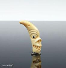 Inuit Art Amulett Schutzgeist Helping Spirit Demonic Figure Grönland Native Art