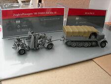 IXO 1/72 MILITAIRE TRACTEUR FAMO 18t sdkfz 9 +CANON 8,8 cm FLAK 37 USSR 1941 !!