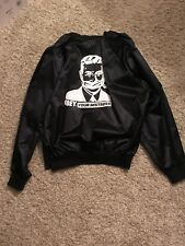 OBEY Obey your mistress Satin Bomber Jacket Size Large