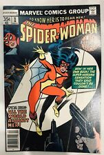 Spider Woman 1 Marve l Comic Book Printed 1978
