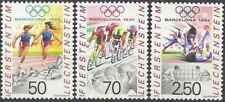 Timbres Sports d'hiver JO Liechtenstein 971/3 ** lot 27893