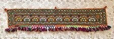 1970s/Ethnic/Kuchi/Indian/Fabric/Embroidery/Embroidered/Door/Wall Hanging/Toran