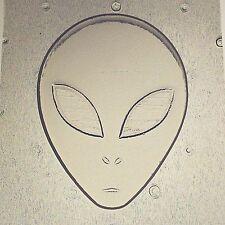 """Flexible Resin Or Chocolate Mold Alien E.T. Face 2.5"""" x 2"""" X 1/4"""" Deep"""