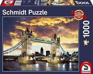 Schmidt - Tower Bridge London Jigsaw Puzzle (1000 Pieces)