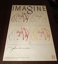 JOHN LENNON - Imagine / Self Portrait HAND SILK-SCREENED LITHOGRAPH - Bag One