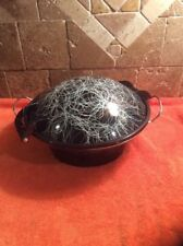 Vintage SERENDIPITY 50s Mid Century Modern Cooking Wok Pan Lid Spaghetti Enamel