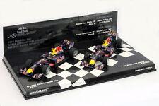 Vettel / Webber RedBull RB6 Constructors Champions 2010 2Car-Set 1:43 Minichamps
