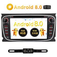 "Android 8.0 32GB 4GB RAM 7"" 4K Autoradio GPS DVD DAB 4G OBD2 Wifi USB BT Kamera"