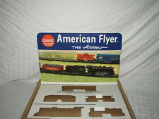 AMERICAN FLYER  BACKGROUND POP UP PICTURE ARROW 20605 SETS NO TRAINS OR BOX RPRO