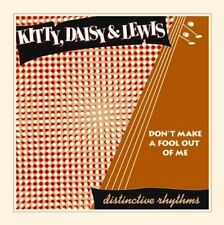 "Kitty Daisy & Lewis Don't Make a Fool out of Me UK Vinyl 10"" 78rpm UNPLAYED"