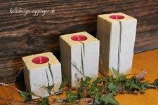 Handgefertigte Kleine Deko-Kerzenständer & -Teelichthalter
