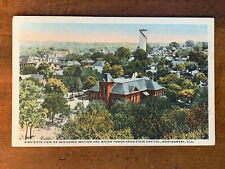 Alabama, AL, Montgomery, Bird's Eye View of Water Tower & Residences, ca 1920