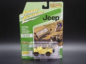 2021 JOHNNY LIGHTNING JEEP CJ-5 CLASSIC GOLD VS B REL 2 NO 4 1:64 CAR