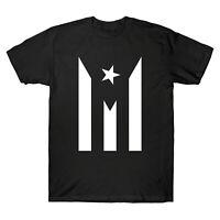 Puerto Rico Resiste Boricua Flag Se Levanta T-Shirt Patriot Men Short Sleeve Top