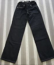 pantalon  noir benetton taille reglable  12 ans mixte