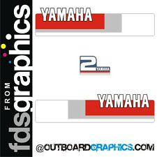 Yamaha 2hp 2 stroke outboard engine decals/sticker kit