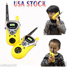 2PCS Mini Walkie Talkie Kids Electronic Toys Portable Two-Way Radio Set US STOCK