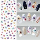 Nail Art UV Gel Manicure Stickers Cute Flowers Water Transfer Sticker Decals#i