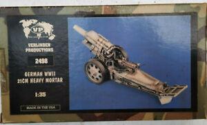 Verlinden 1/35 resin 21cm Heavy Mortar