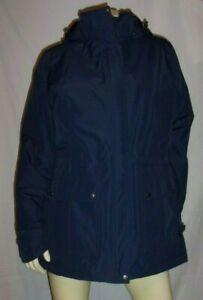 Eddie Bauer RAINFOIL INSULATED PARKA Snap-off Hood Size XL USA