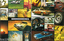 1977 Chevy MONZA Brochure / Catalog: SPYDER, 2+2, Hatchback, Towne Coupe,
