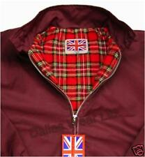 Retro Harrington Jacket Mod Skinhead Burgundy/wine XL