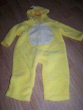 Size 24 Months Yellow Duck Chick Halloween Costume Jumpsuit Fleece Warm EUC