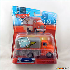Disney Pixar Cars Miles Meat Truck Mega Deluxe Shipping Truck #24 Piston Nights