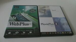 Serif WebPlus x6 Professional Website Designer + Serif Movieplus 4 software