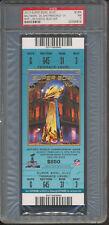 2013 Super Bowl XLVII Baltimore San Francisco Full Ticket Blue PSA 7 *4814