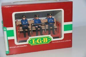 LGB 32410 Fireman Car w/Figures - Plastic Wheels with Box