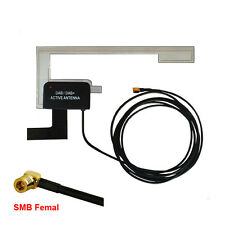 Car DAB DAB+ Digital Radio Aerial Antenna Glass Mount SMB Femal Plug For Pioneer