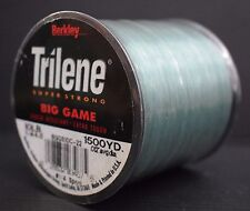 "Berkley Trilene Super Strong Big Game Monofilment Fishing Line 10lb 0.012"" dia"